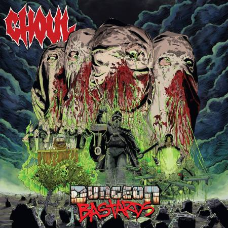 GHOUL - Dungeon Bastards - promo album cover pic - 2016 - #MO33ILMFSO9966