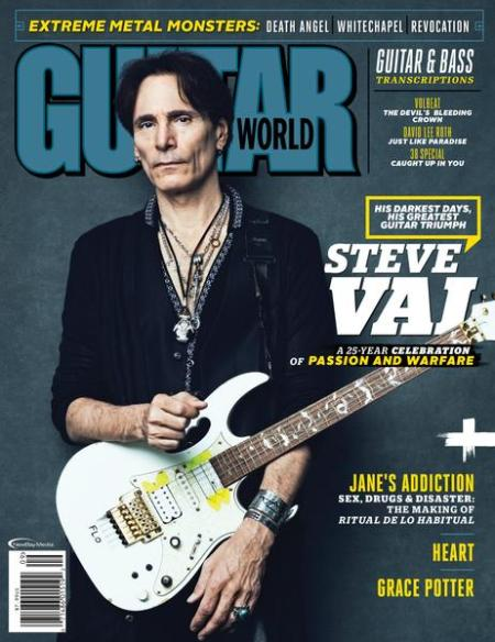 Guitar World - Steve Vai - September 2016 - cover pic promo - #MO99ILMFNSO
