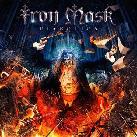 IRON MASK - Diabolica - promo album cover pic - 2016 - #MO999ILMFN