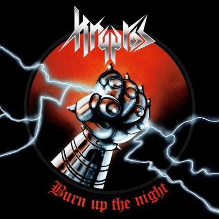 Kryptos - Burn Up The Night - promo album cover pic - 2016 - #MO9966ILMFNSO
