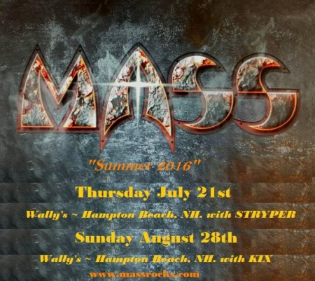MASS - Summer 2016 - concert flyer - #MO5099ILMNFS