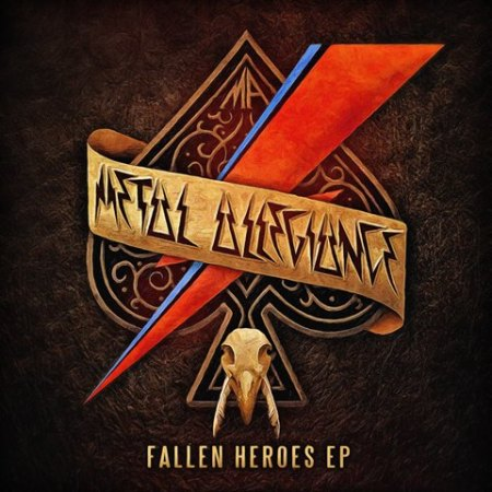 Metal Allegiance - Fallen Heroes EP - promo cover pic - 2016 - #3300999ILMFMO