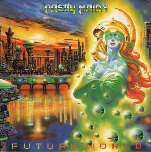 Pretty Maids - Future World - promo cover pic - 1987 - #MO3993ILMFO