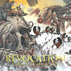Revocation - Great Is Our Sin - promo album cover pic - 2016 - #MO99966ILMFNSO