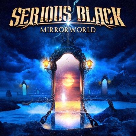 Serious Black - Mirror World - promo album cover pic - 2016 - #MO999ILMFN33