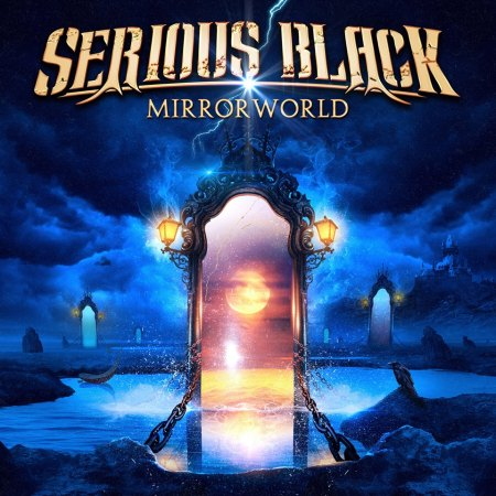 Serious Black - Mirror World - promo album cover pic - 2016 - #MO999ILMFN33