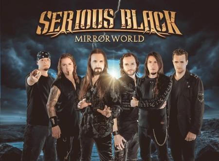 Serious Black - Mirrorworld - promo band pic - 2016 - #MO99ILMFNSO33366