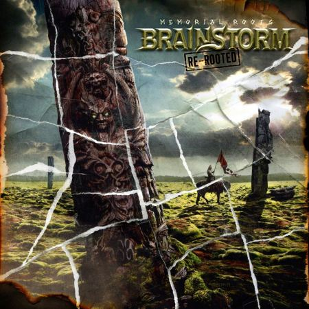 Brainstorm - Memorial Roots - Re-Rooted - promo album cover pic - 2016 - #MOILMNSM993
