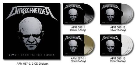 Dirkschneider - Live Back To The Roots - album CD promo banner pic - 2016 - #33ILMNSMOS8993