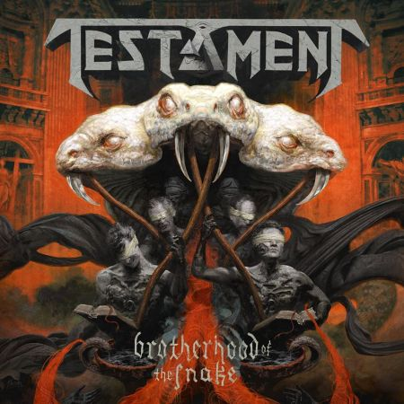 Testament - Brotherhood Of The Snake - promo album cover pic - 2016 - #MOILMNSO993