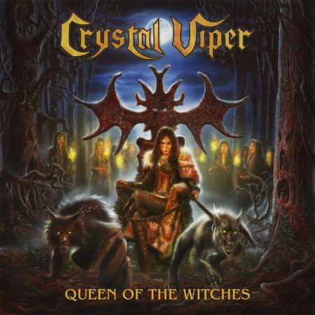 Crystal Viper - Queen Of The Witches - promo album cover pic - 2016 - #33MO9ILMFOS999