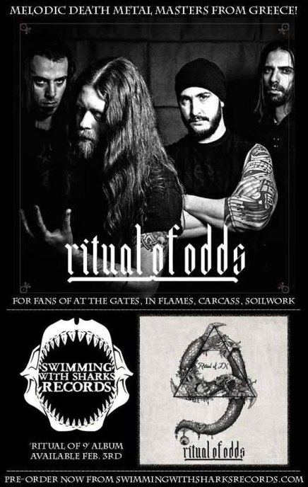 "RITUAL OF ODDS – New Studio Album ""Ritual Of 9"" Releases On February 3rd"