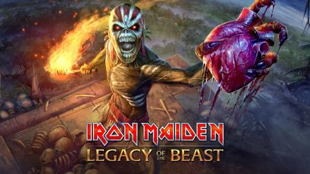 Iron Maiden - Legacy Of The Beast - video game promo pic - 2017 - #333ILMF