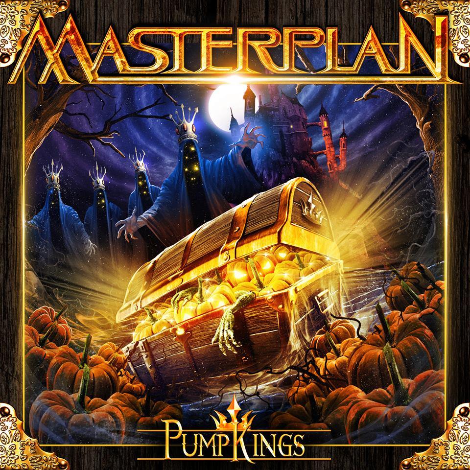 Masterplan - Pumpkings - promo album cover pic - 2017 - #33MO909ILN