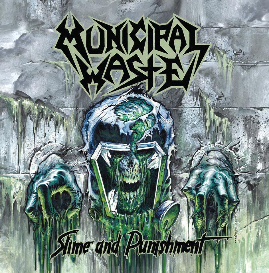 Municipal Waste - Slime And Punishment - promo album cover pic - 2017 - #33MO99ILNGSO