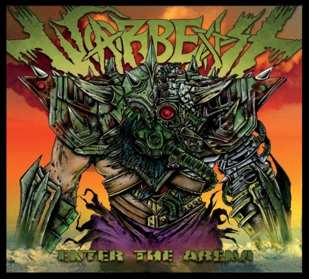Warbeast - Enter The Arena - promo album cover pic - #7MOILNSGO777