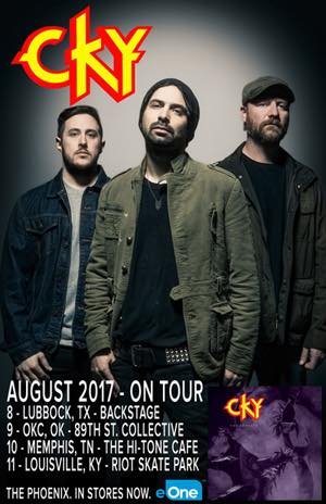 CKY - August Tour - 2017 - tour flyer - #33MO9335