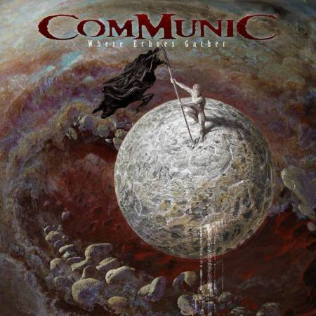 Communic - Where Echoes Gather - promo cover pic - 2017 - #33MO9933N