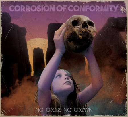 Corrosion Of Conformity - No Cross No Crown - promo album cover pic - 2018 - #33MO99339ILMN