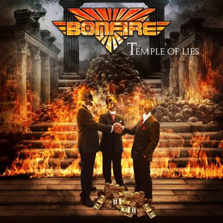 Bonfire - Temple Of Lies - promo cover pic - 2018 - #33MO99