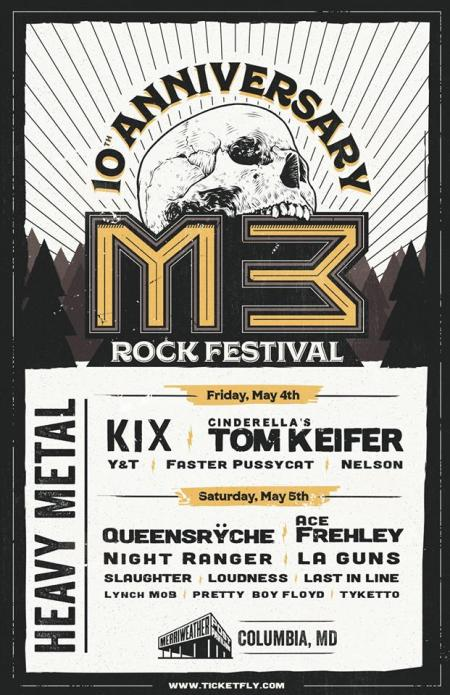 M3 Rock Festival 2018 - event flyer - #333MO0330ILMWDOS
