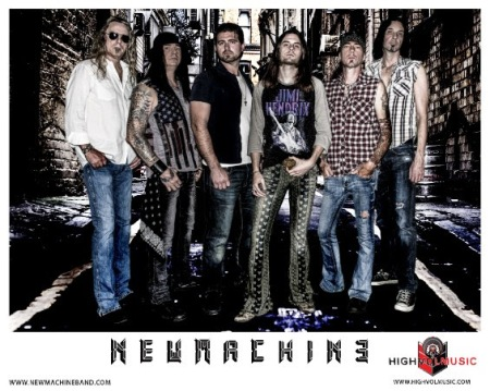 NEWMACHINE - promo band card - 2018 - #33MO3343233