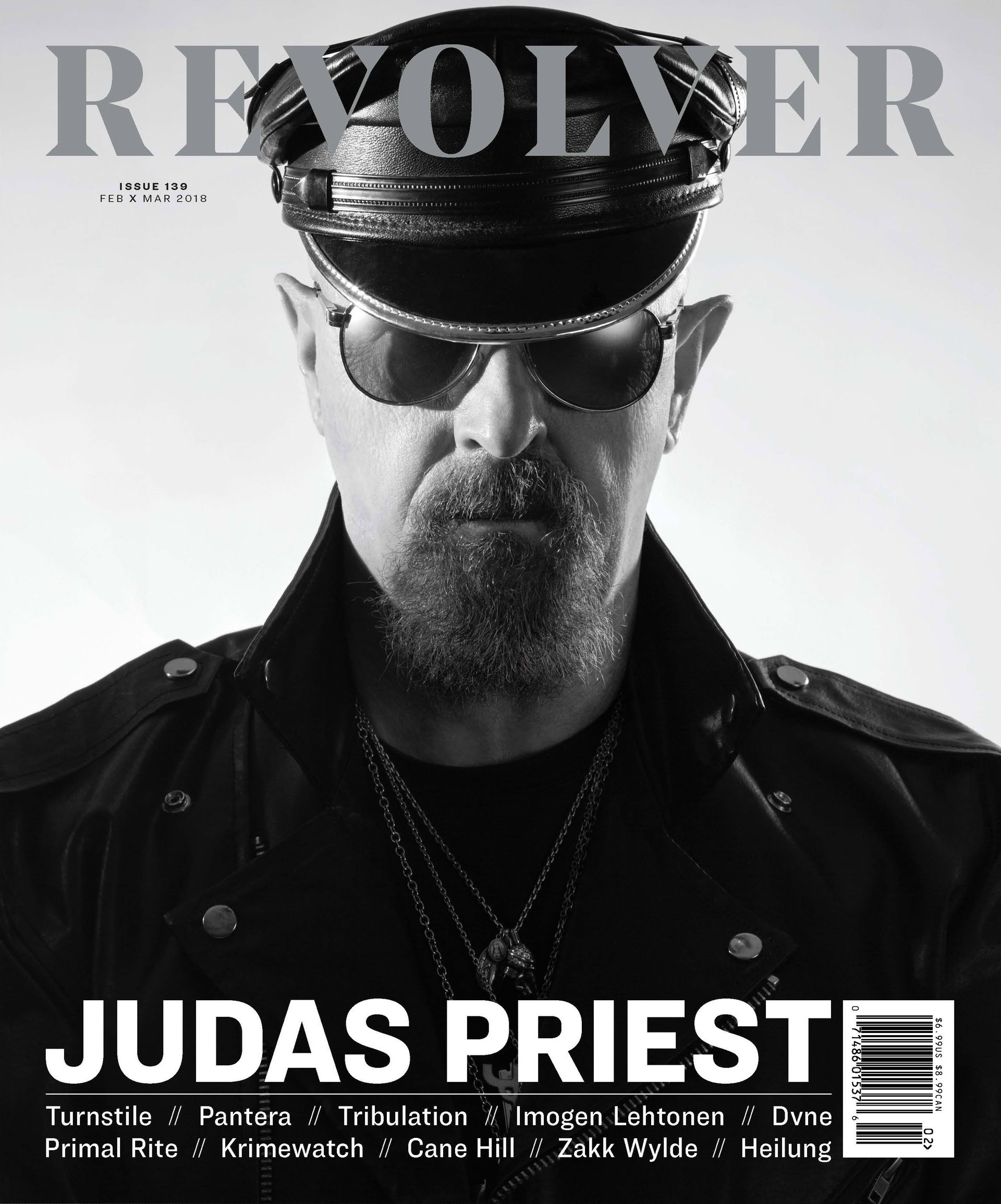 Rob Halford - Revolver Cover Feature - Feb - March - 2018 - #333MO745ILMG