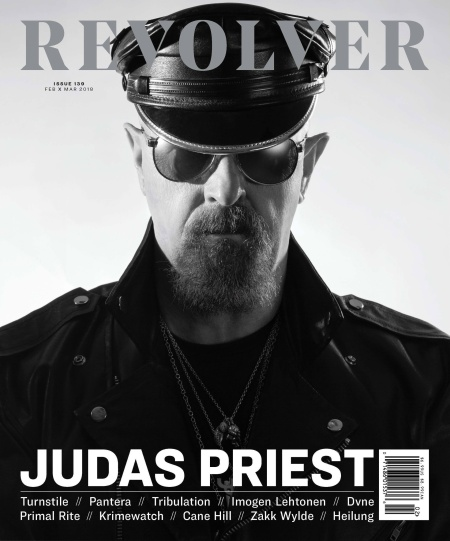 Rob Halford - Revolver Cover Feature - Feb - March - 2018 - #333MO745ILMG
