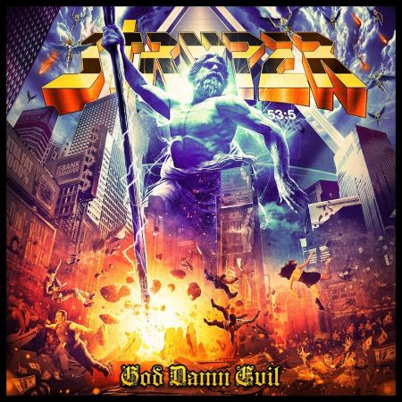 Stryper - God Damn Evil - 2018 - promo album cover pic - #333MO3ILMWDSO333