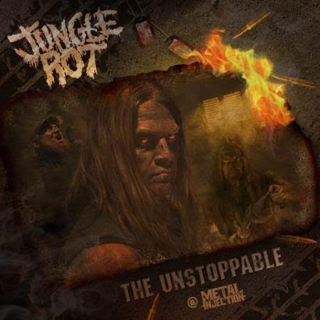 Jungle Rot - The Unstoppable - promo artwork - 2018 - #33MO33ILMG23