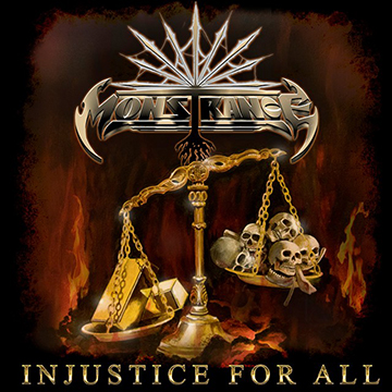 Monstrance - Injustice For All - album cover art - 2018 - #33MO777ILMG