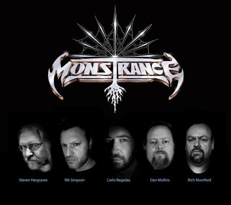 Monstrance - logo band pic - 2018 - #333MOILMN33