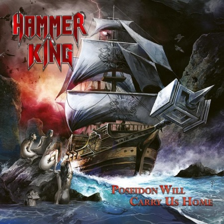 Hammer King - Poseidon Will Carry Us Home - promo cover pic - 2018 - #33MO733ILMGD