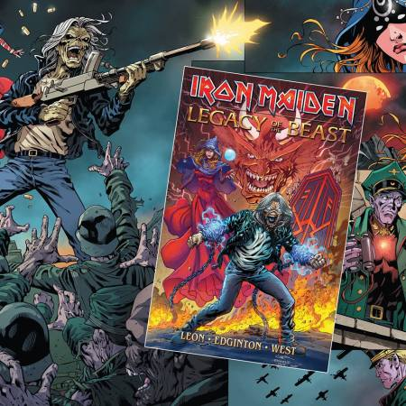 IRON MAIDEN - graphic novel - 2018 - October - #33MO6633