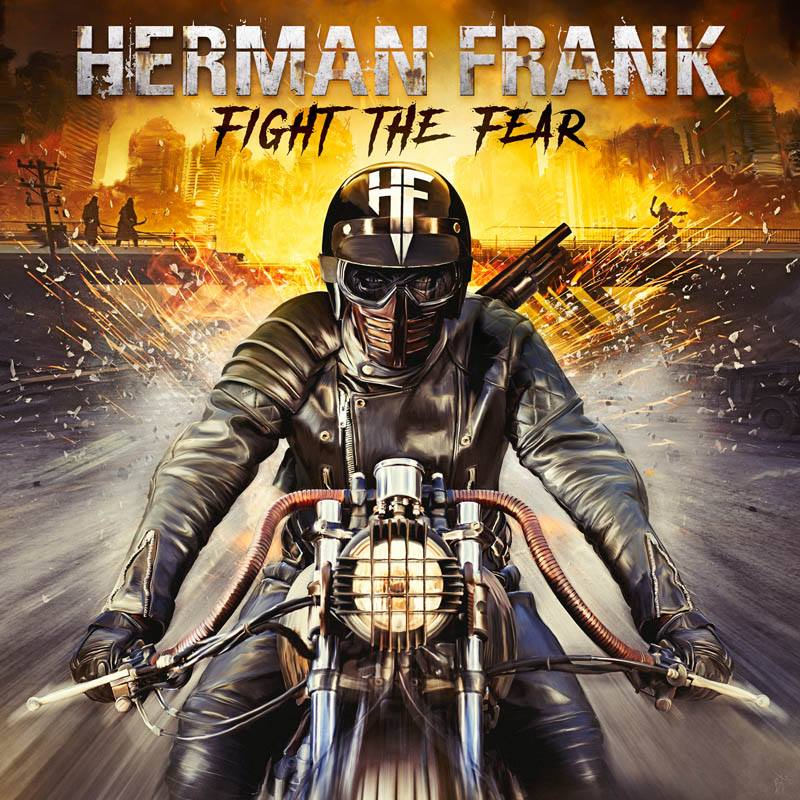 "New Metal Releases 2019 HERMAN FRANK ""Fight The Fear"" – New Studio Album Releases On"