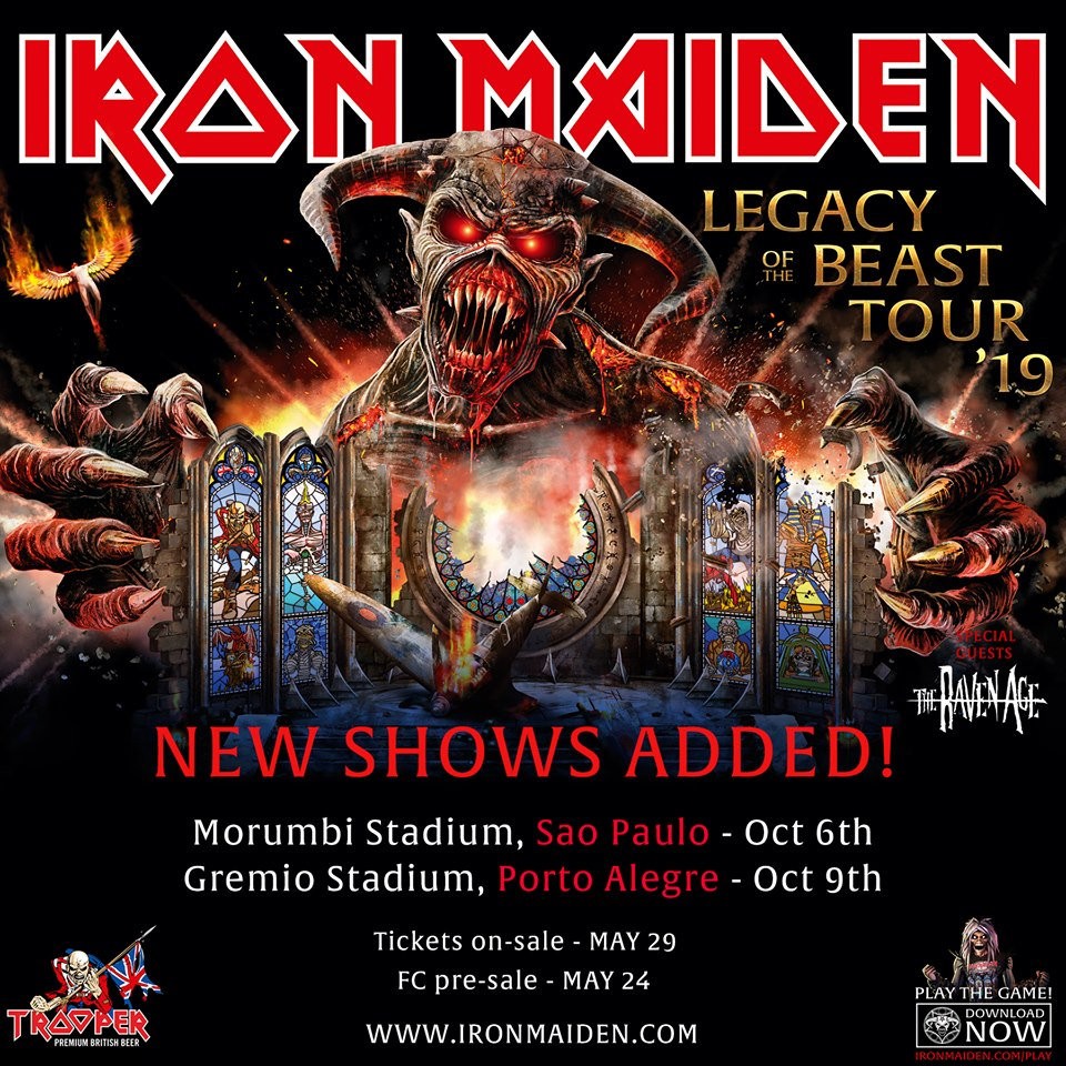 890f4904 IRON MAIDEN – Announces Final Shows For The Legacy Of The Beast Tour 2019.  Posted in Heavy Metal ...
