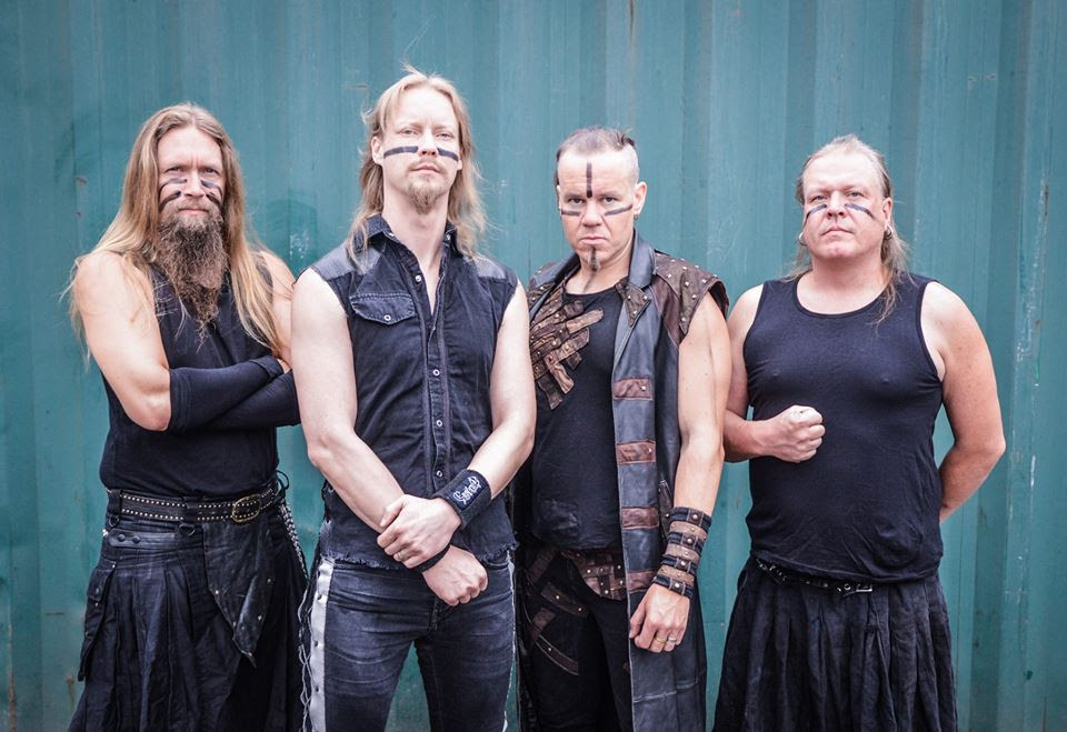 Ensiferum - photo by Andy Whittle - by permission