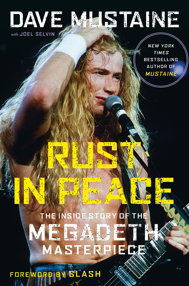 Dave Mustaine - Rust In Peace - autobiograpy - promo pic - 2020 - #333ILG