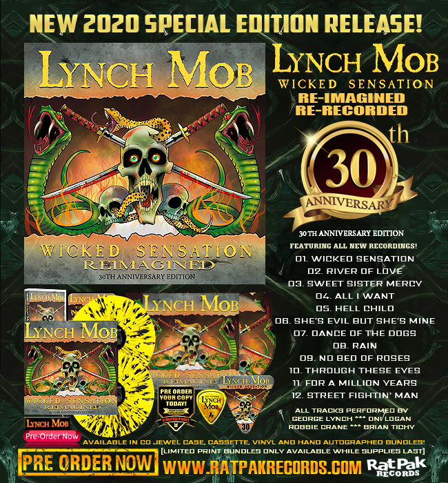 Lynch Mob wicked sensation 30th anniversary - bundle pic promo - 2020 - #33MOILG