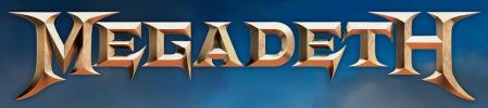 Megadeth - classic logo - #333ILGMO33