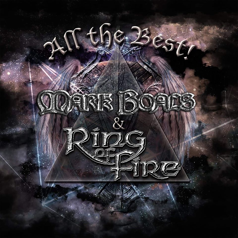 Mark Boals - Ring Of Fire - All The Best - cover promo pic - 2020 - #33MO333ILGDPS
